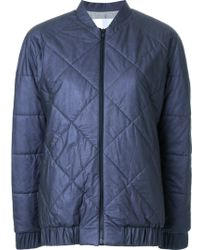 Scanlan Theodore Quilted Bomber Jacket