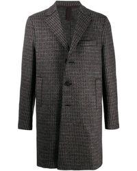 Harris Wharf London シングルコート - ブラウン