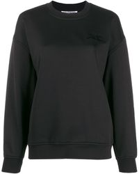Courreges Logo Sweatshirt - Black