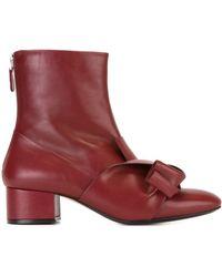 N°21 - Tie Detail Boots - Women - Leather - 38 - Multicolour