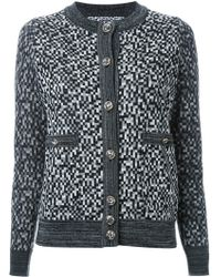 ANREALAGE - 'snow Noise Chanel' Cardigan - Lyst