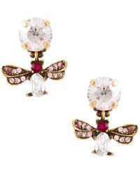 Serpui - Embellished Earrings - Lyst
