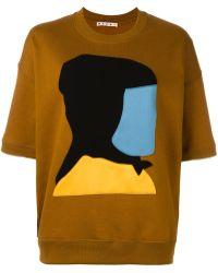 Marni - Colour Block Etka Sweatshirt - Lyst
