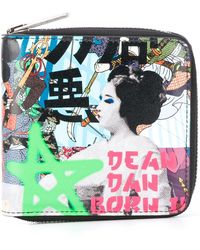 DSquared² - Mini Manga Print Wallet - Lyst