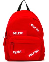 Joshua Sanders 'egoist' Backpack - Red