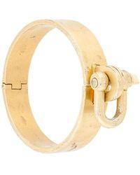 Parts Of 4 Bracelet manchette Restraint - Métallisé
