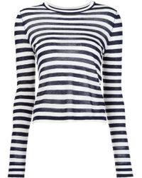 Jenni Kayne - Striped Long Sleeves Blouse - Lyst