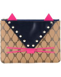 MUVEIL - Studded Pouch - Lyst