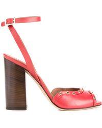 Scanlan Theodore | Studded Block-heel Sandals | Lyst
