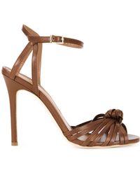 Scanlan Theodore | Front Knot Stiletto Sandals | Lyst