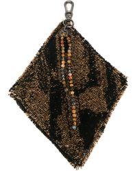 Damir Doma 'alisei' Chain Pouch - Black