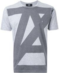 ANREALAGE | Oversized Logo T-shirt | Lyst