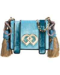 DSquared² Medium 'dd' Crossbody Bag - Blue