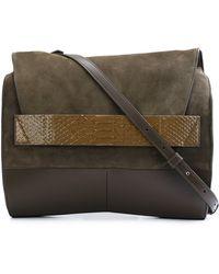 Narciso Rodriguez - Python Skin Detail Shoulder Bag - Lyst