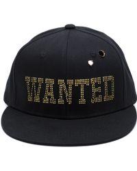 Piers Atkinson - Embellised 'wanted' Baseball Hat - Lyst