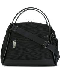 Pleats Please Issey Miyake Handbag With Front Zip Lyst