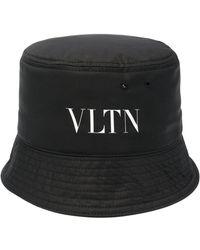 Valentino ロゴ バケットハット - ブラック