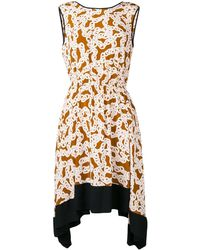 Diane von Furstenberg - チェーンプリント ドレス - Lyst