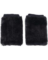Urbancode - Synthetic Fur Cuffs - Lyst