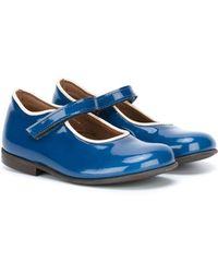 Pepe Jeans - Contrast-Trim Goatskin Ballet Flats - Lyst
