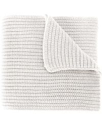 Stone Island - Cable Knit Scarf - Lyst