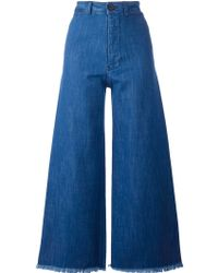 MASSCOB - Wide Leg Jeans - Lyst