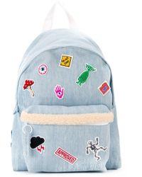 Joshua Sanders - Patch Detail Denim Backpack - Lyst