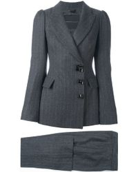 Ermanno Scervino | Fitted Trouser Suit | Lyst