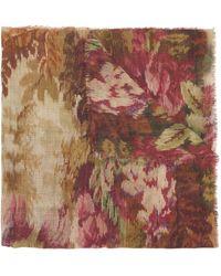 Herno X Pierre-louis Mascia Floral Print Scarf - Multicolour