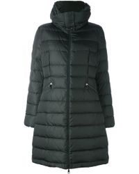Moncler - Flammette Quilted Down Coat  - Lyst