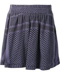 Cecilie Copenhagen - Printed Mini Skirt - Lyst