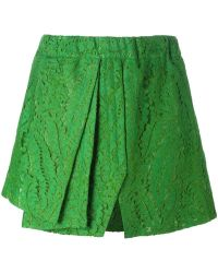 N°21 - No21 Front Pleat Lace Skirt - Lyst