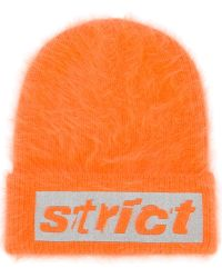 Alexander Wang - Strict Embroidered Beanie - Lyst