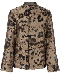 F.R.S For Restless Sleepers - Leopard Print Quilted Suit - Lyst