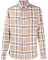Brunello Cucinelli Рубашка В Клетку - Многоцветный