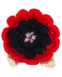 Christopher Kane - Crochet Flower Brooch - Lyst