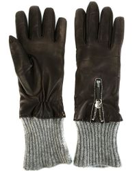 Fabiana Filippi | Ribbed Trim Gloves | Lyst