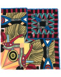 Givenchy - Egyptian Square Print Scarf - Lyst