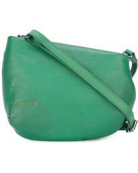 Fantasmino 0106 crossbody bag - Green Mars GcCnu8RT