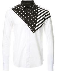 Yoshio Kubo - Stars And Stripes Shirt - Lyst