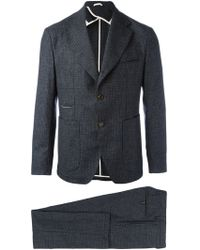 Al Duca d'Aosta - Checked Two Piece Suit - Lyst
