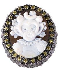 Amedeo 'monkey' Ring - Metallic