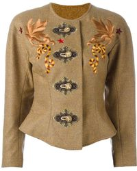 Christian Lacroix | Embroidered Jacket | Lyst