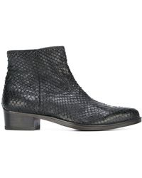 HTC Hollywood Trading Company Scaled Ankle Boots