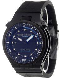 Porsche Design - 'diver Black Edition 1000m' Analog Watch - Lyst