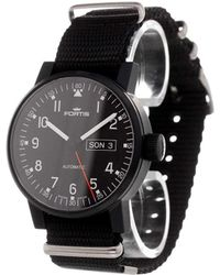 Fortis - 'spacematic Pilot Professional' Analog Watch - Lyst