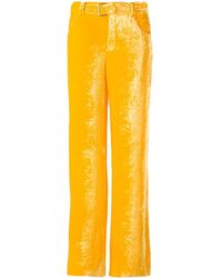 Arthur Arbesser - Belted Wide Leg Trousers - Lyst