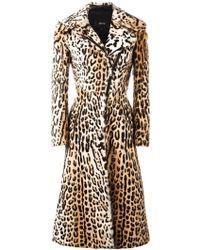 Jitrois | Leopard Print Long Coat | Lyst