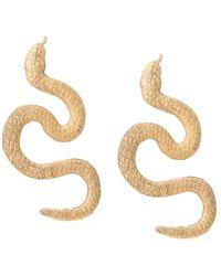 Natia X Lako Snake Earrings - Multicolour