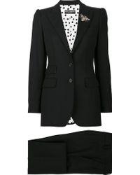 Dolce & Gabbana - Bee Appliqué Suit - Lyst